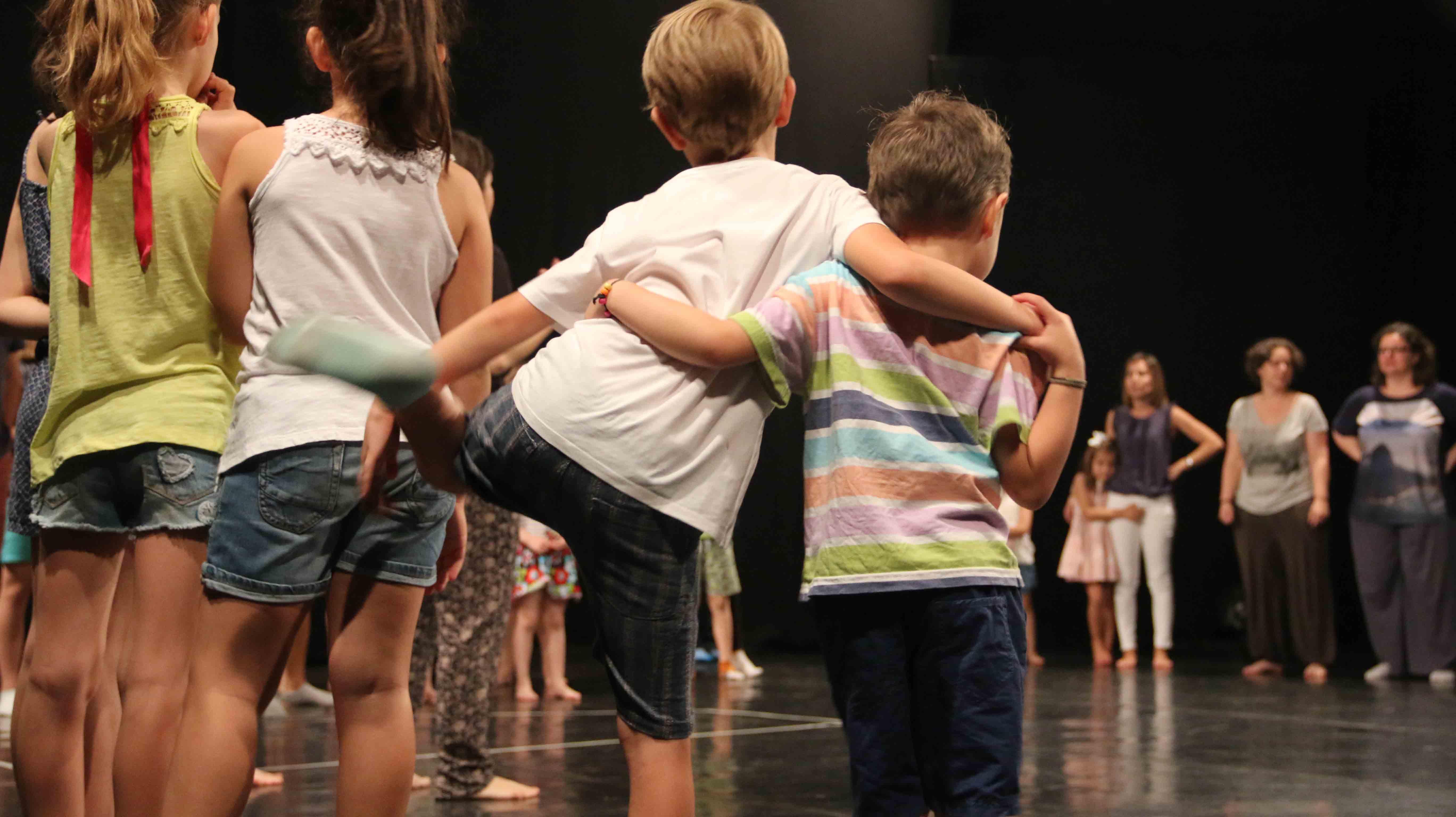 Campamento urbano de teatro para niños Cuarta Pared