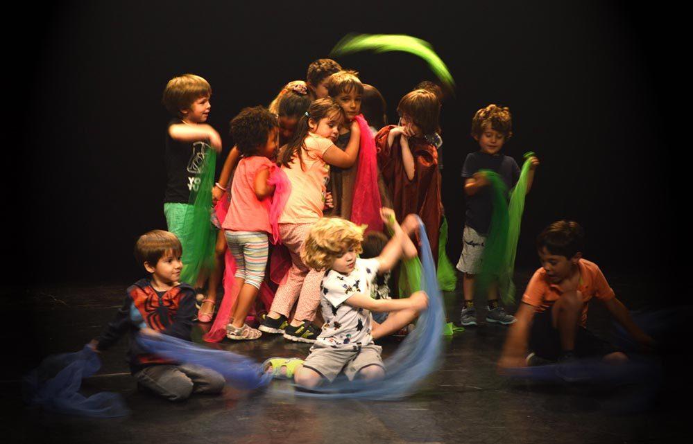 Escuela de teatro - presentación - Cuarta Pared