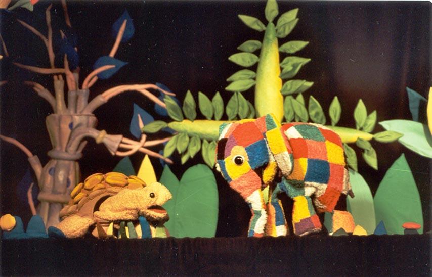 Elmer, el elefante - Teatro de la Luna