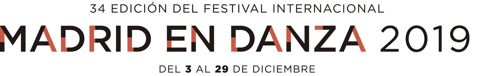 Logo Madrid en Danza